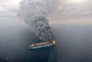 disaster Maersk-Honam-Fire
